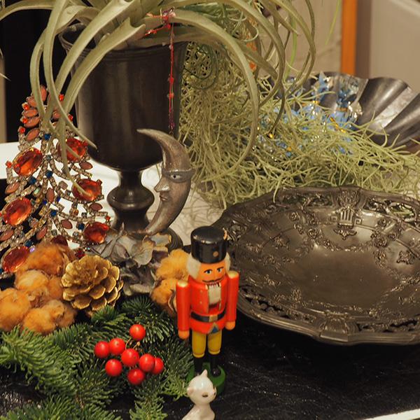 12/14から12/16に開催したデコパージュのクリスマスフェア(表参道)の様子
