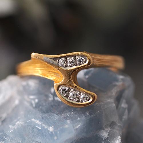 LAPPONIA ラポーニア ビョルンウェクストロム 18金 ダイヤモンド リング 1977